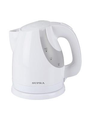 Чайник  KES-1725, 1.7л, 2000Вт Supra. Цвет: белый