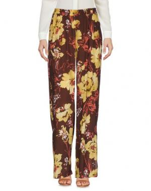 Повседневные брюки SISTE' S. Цвет: темно-коричневый