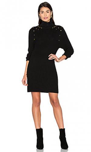 Платье свитер 525 america. Цвет: черный