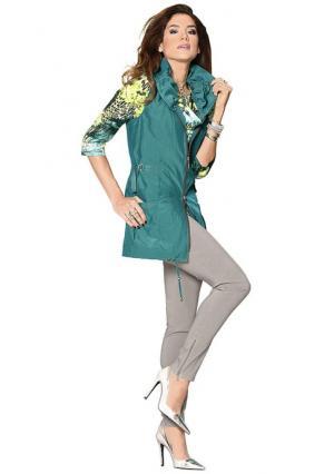 Брюки Classics collection Classic's. Цвет: зелено-синий, серо-бежевый, темно-серый меланжевый