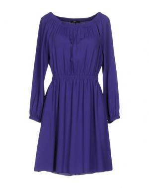 Короткое платье CARLA G.. Цвет: фиолетовый
