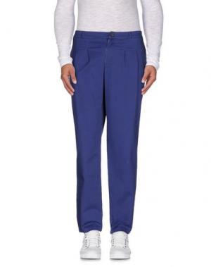 Повседневные брюки JIJIL. Цвет: синий