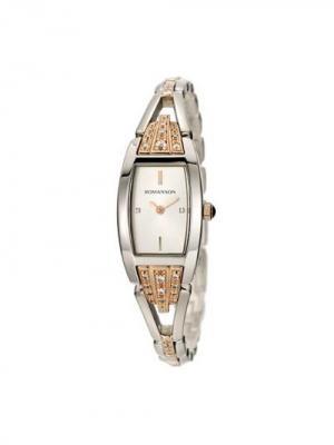 Часы RM8272QL Romanson. Цвет: серебристый, золотистый