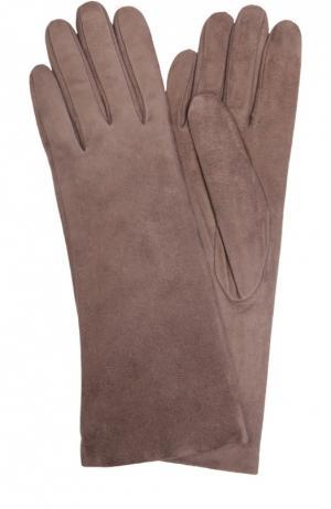 Перчатки Sermoneta Gloves. Цвет: бежевый