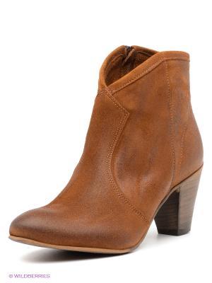 Полусапожки Shoe the Bear. Цвет: светло-коричневый