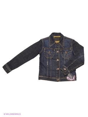 Куртка VON DUTCH. Цвет: синий, темно-синий