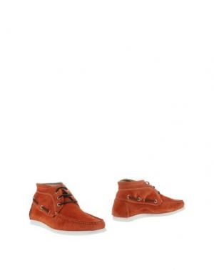 Полусапоги и высокие ботинки GOLD BROTHERS. Цвет: ржаво-коричневый