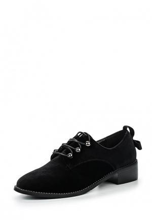 Ботинки Item Black. Цвет: черный