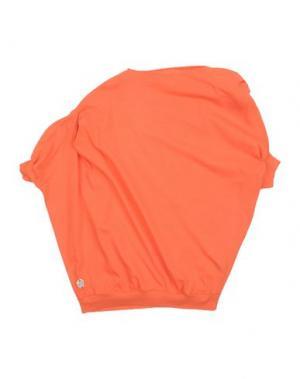 Футболка MANILA GRACE DENIM. Цвет: оранжевый