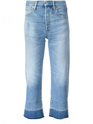 Укороченные джинсы Citizens Of Humanity. Цвет: синий