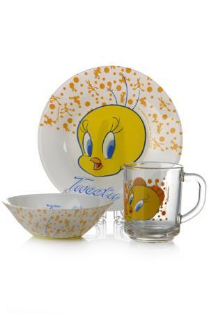 Набор детской посуды Pasabahce. Цвет: мультицвет