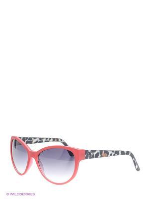 Солнцезащитные очки Franco Sordelli. Цвет: красный, черный