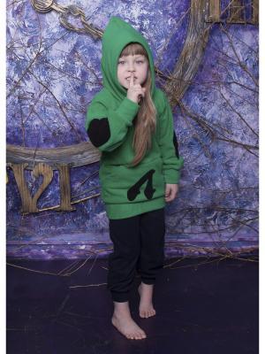 Худи ЛисФлис. Цвет: зеленый