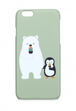 Чехол для iPhone Kawaii Factory. Цвет: зеленый
