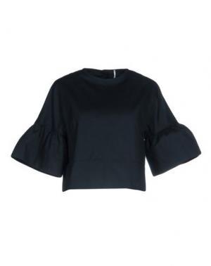 Блузка MAISON LAVINIATURRA. Цвет: темно-синий