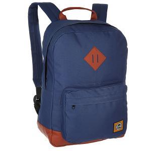 Рюкзак городской  First Edition Navy Today. Цвет: синий,коричневый