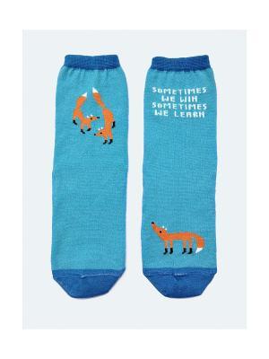 Носки Big Bang Socks. Цвет: голубой