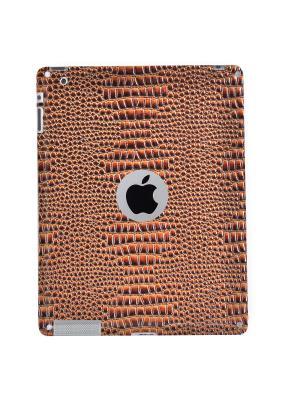 Декоративная защитная плёнка для задней панели iPad 2 Belsis. Цвет: коричневый