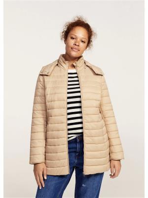 Куртка - SELLER1 Violeta by Mango. Цвет: бежевый