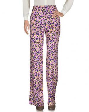 Повседневные брюки PETER PILOTTO. Цвет: фиолетовый