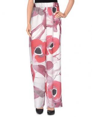 Повседневные брюки JIJIL. Цвет: пурпурный
