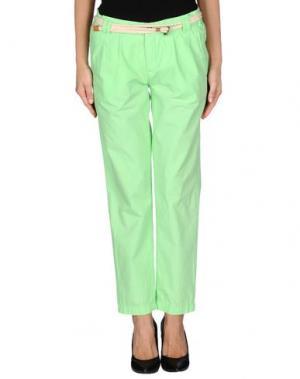 Повседневные брюки FRANKLIN & MARSHALL. Цвет: кислотно-зеленый