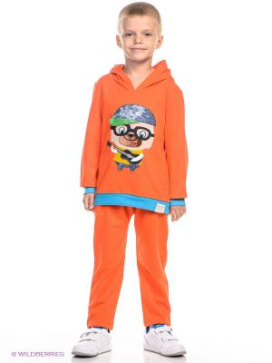 Костюм Kidly. Цвет: оранжевый, голубой