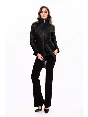 Куртка синтепоновая PAOLA MORENA. Цвет: черный
