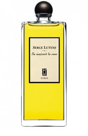 Парфюмерная вода Sa Majesté la Rose Serge Lutens. Цвет: бесцветный