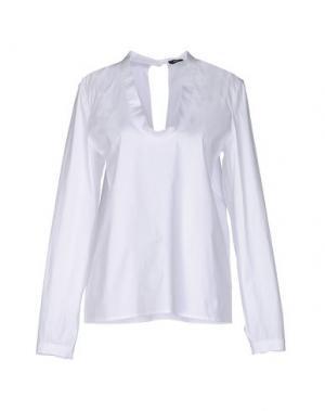 Блузка JI OH. Цвет: белый