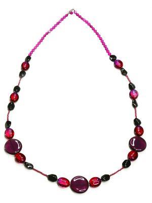 Ожерелье Bohemia Style. Цвет: сиреневый
