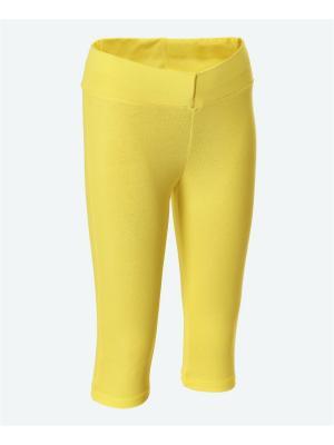 Капри МИКИТА. Цвет: желтый
