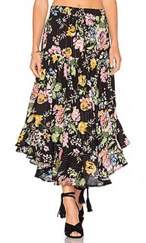 Свободная мини юбка delilah AUGUSTE. Цвет: черный