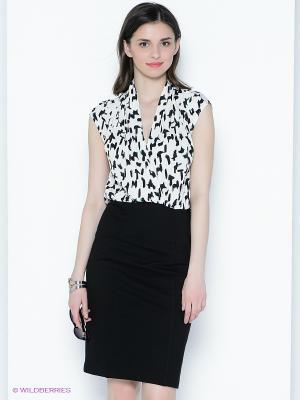 Платье Sinequanone. Цвет: черный, белый
