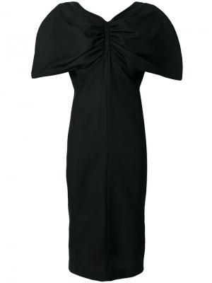Платье Vallauris Jacquemus. Цвет: чёрный