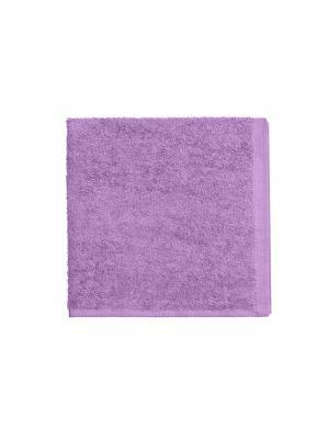 Махровое полотенце-сиреневый-40х40-100% хлопок, УзТ-МПБ-005-08-05 Aisha. Цвет: сиреневый
