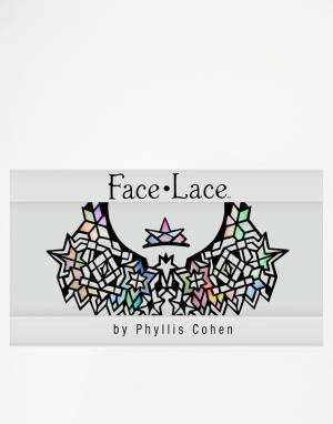Facelace Украшение для лица ограниченной серии Face Lace Stained Glasstra. Цвет: stained glasstra
