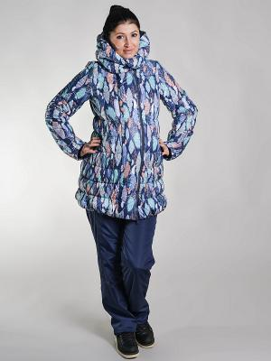 Куртка impressmama. Цвет: голубой