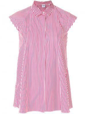 Блузка в полоску без рукавов Aspesi. Цвет: красный