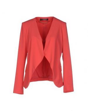 Пиджак CARLA MONTANARINI. Цвет: коралловый