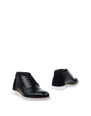 Полусапоги и высокие ботинки BOXFRESH. Цвет: черный