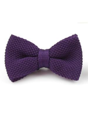Галстук-бабочка Churchill accessories. Цвет: сливовый, сиреневый, темно-фиолетовый
