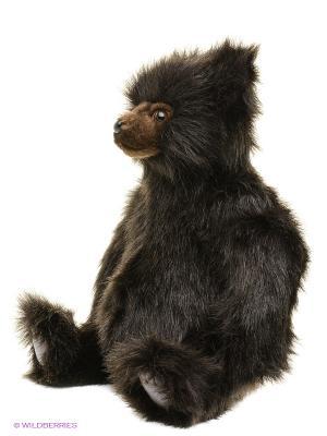 Медведь бурый, 36 см Hansa. Цвет: коричневый