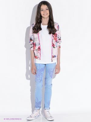 Куртка GUESS. Цвет: бледно-розовый