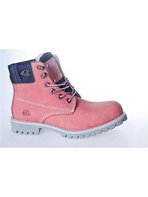Ботинки Patrol. Цвет: коралловый