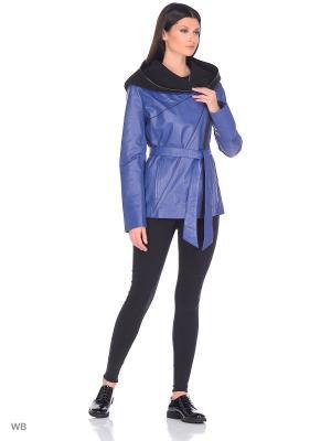Куртка MONDIAL. Цвет: синий