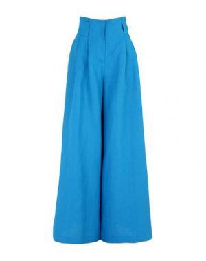 Повседневные брюки MARIANNA SENCHINA. Цвет: бирюзовый