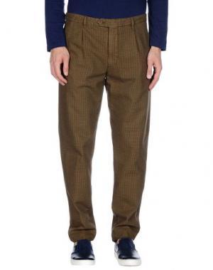 Повседневные брюки AVIO. Цвет: хаки