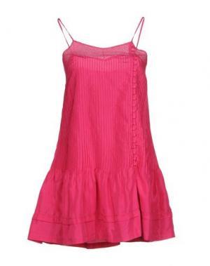 Короткое платье TWENTY8TWELVE. Цвет: фуксия