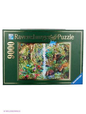 Пазл Джунгли Ravensburger. Цвет: синий, зеленый, фиолетовый, желтый